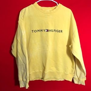 Vintage Tommy hillfiger spell out sweatshirt